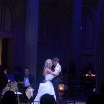Ashleigh & Justin Wedding 7-1-16 Treasury on the Plaza St Aug.