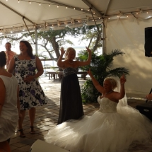 Ashley & Derrick Wedding 7-16-16 Aunt Kate's Res St Aug FL