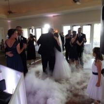 Chelsea & Brian P. Wedding Dancing on a cloud