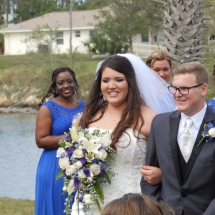 Danielle & Aaron B Wedding 3-24-17 Channel Side PalmCoast