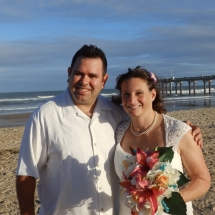 Debrorah & Sean Wedding 11-28-15 St. Augustine Beach