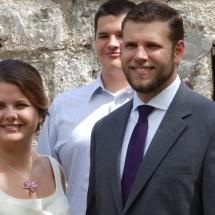 Gabrielle & Jon B. Wedding 6-5-16 St Francis Barraks St Aug,