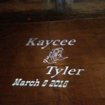 Kaycee & tyler Wedding 3-5-16