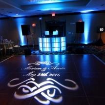 Mariam & Amir A. Wedding DJ Setup