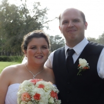 Paige & Chris A. Wedding 3-12-16 Magnolia Point Country Club Green Cove Sprgs
