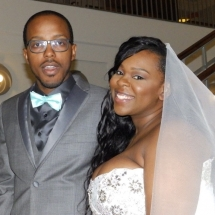 Sarah & Terrence P. Wedding 4-10-16 Jax Library