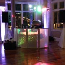 Tania & Scott C. Wedding 1-24-16 The White Room DJ Booth