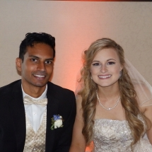 Rebecca & Rakesh S. Wedding 5-28-17 Hilton St Aug