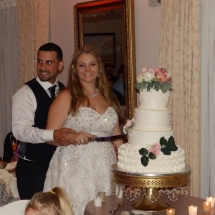 Jennifer & Sergio B Wedding 5-19-18 Amici Italian Restaurant