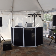 Aunt Kate's Res. DJ Setup