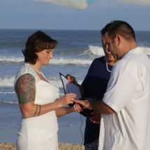 Debrorah & Sean Wedding 11-28-15 St Augustine Beach