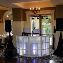 Hammock Bch Resort DJ Setup