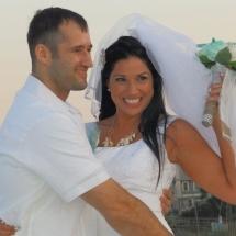 Melodi & Brandon L. Wedding 5-7-16 St. Augustine Bch