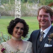 Michelle & Darryll F. Wedding 1-21-17 Wild Villa Acers Paisley FL