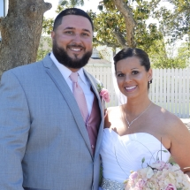 Maghan & Derrick R. Wedding 4-9-17 St Francis Barracks St Aug