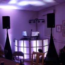 DJ booth Mandarin