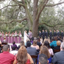 Allison & Alex A. Wedding 11-25-18 Bowing Oaks Plantation