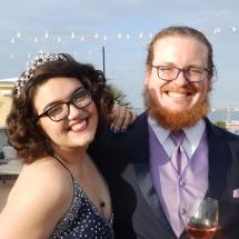 Ellen & Christian W Wedding 2-15-19 White Room Roof Top St Augustine