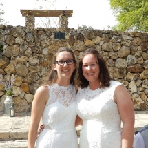 Sarah & Carly Wedding 3-18-19 Crystal Cove Riverfront Resort