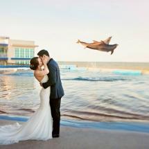 Alexandra & Alex L Wedding 4-27-19 Marineland St Aug.
