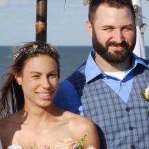 Joslyn & Cellin N Wedding 4-20-19 St Augustine Beach