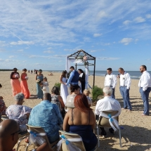 Joslyn & Cellin N Wedding 4-20-19 St. Augustine Beach