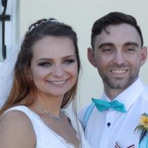 Taylor & Kevin S Wedding 8-24-19 St. Francis Barracks St Aug.