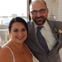 Debra & Jame M. Wedding 10-11-19 Sunset Riverfront Daytona Bch.