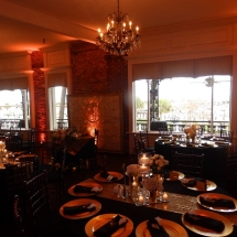 A1A Ale Works Bayview Room Uplighting
