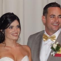 Ashley & Kyle Johnson Wedding 12-6-19 Treasury on the Plaza St Augustine FL.