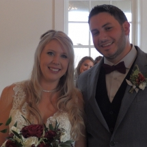 Megan & Wesley F. Wedding 12-29-19 White Room Roof Top St Augustine FL.