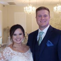 Alyssa & Derek Y. Wedding 12-4-20 Crystal Ballroom St. Augustine FL.