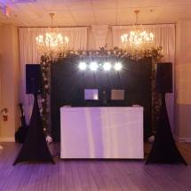 Crystal Ballroom Setup