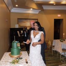 Sakeena & Jerry C Wedding 1-9-21 Casa Monica Hotel St Augustine FL