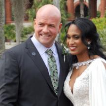 Sakeena & Jerry C Wedding 1-9-21 Casa Monica Hotel St Augustine FL.