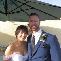 Traci & Jason V Wedding 1-24-21 White Room Roof Top St Augustine FL