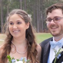 Lyndsey & Caleb R. Wedding 3-6-21 Jacksonville Golf & Country Club.
