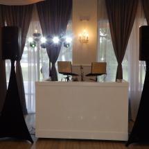 Crystal Ball Room DJ Setup